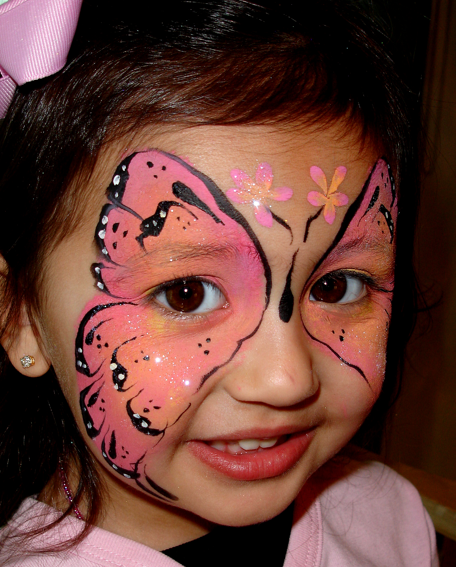 Girl Butterfly Magic By David