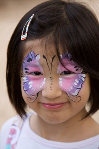 Greenville Face Painting, Face Painting Greenville NC