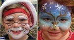 Holiday Face Painting Raleigh NC